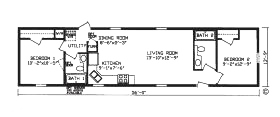 Alexander Mobile Home Park Floorplan